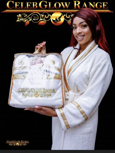 CelebGlow Range Customised Luxurious Robes and Towels